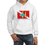 Nothing but bubbles Hooded Sweatshirt