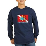 Nothing but bubbles Long Sleeve Dark T-Shirt