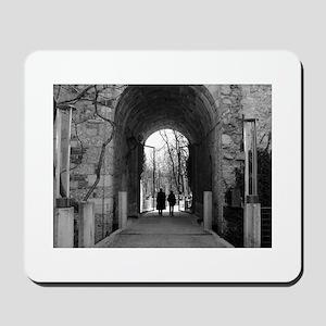 Black and White Classic Photo Mousepad