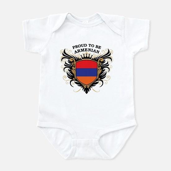 Proud to be Armenian Infant Bodysuit