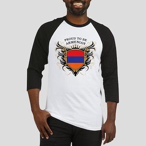 Proud to be Armenian Baseball Jersey