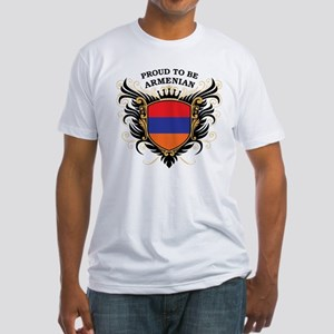 Proud to be Armenian Fitted T-Shirt