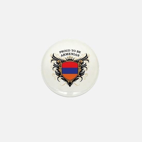 Proud to be Armenian Mini Button