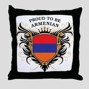 Proud to be Armenian Throw Pillow