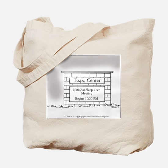 Late Meeting Tote Bag