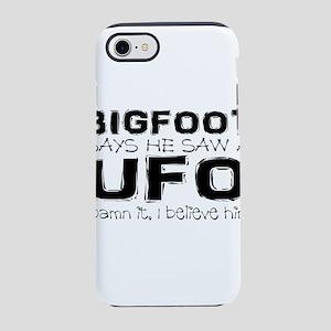 truthful bigfoot iPhone 8/7 Tough Case