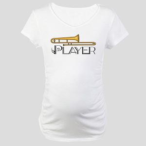 Trombone Player Maternity T-Shirt