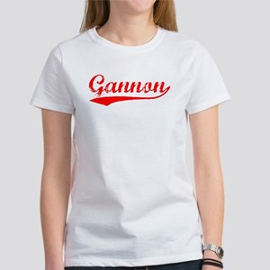 Vintage Gannon (Red) Women's T-Shirt