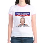Kevorkian for Congress Jr. Ringer T-Shirt