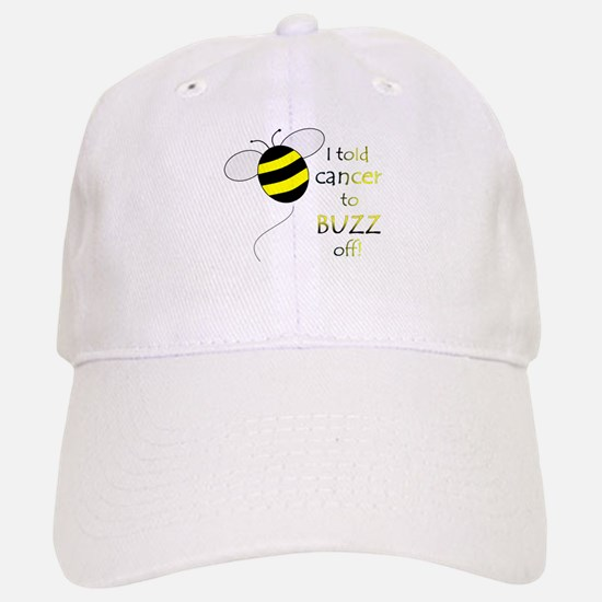 CANCER BUZZ OFF Baseball Baseball Cap