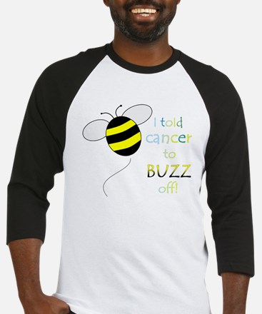 CANCER BUZZ OFF Baseball Jersey