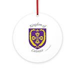 Kingdom of Calontir Ornament (Round)