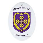 Kingdom of Calontir Oval Ornament