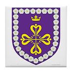 Queen of Calontir Tile Coaster