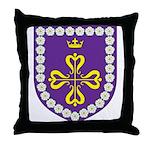 Queen of Calontir Throw Pillow