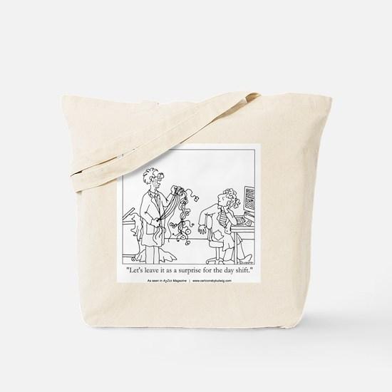 Sleep Surprise Tote Bag