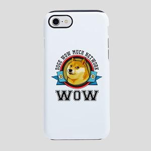 Dogecoin Doge Shibe Wow Embl iPhone 8/7 Tough Case
