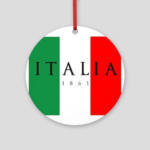 Italy 1861 Round Ornament