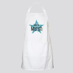 Blue Star Due In March BBQ Apron