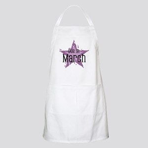 Purple Star Due In March BBQ Apron
