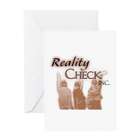 Reality Check Inc. Greeting Card
