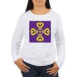 Calontir Ensign Women's Long Sleeve T-Shirt