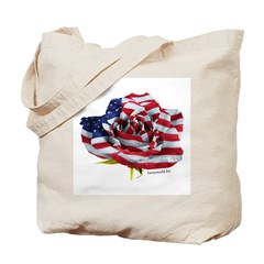 American Rose Tote Bag