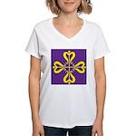 Calontir Ensign Women's V-Neck T-Shirt