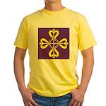 Calontir Ensign Yellow T-Shirt
