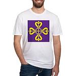 Calontir Ensign Fitted T-Shirt