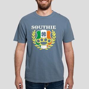 Southie Brass Knuckle Irish Flag St Patric T-Shirt