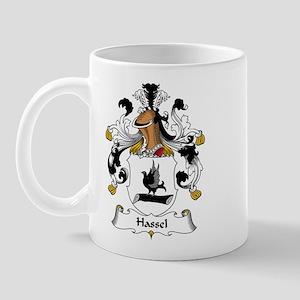 Hassel Family Crest Mug