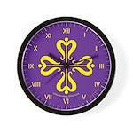 Calontir Ensign Wall Clock