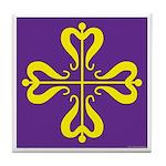 Calontir Ensign Tile Coaster