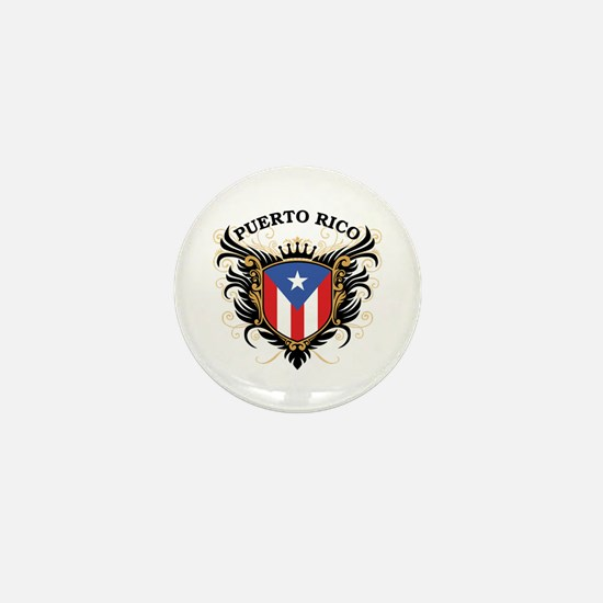 Puerto Rico Mini Button