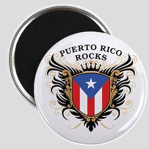 Puerto Rico Rocks Magnet