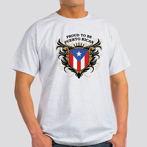 Proud to be Puerto Rican Light T-Shirt