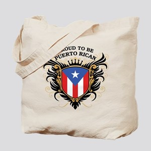 Proud to be Puerto Rican Tote Bag