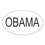 O Oval Sticker (10 pk)