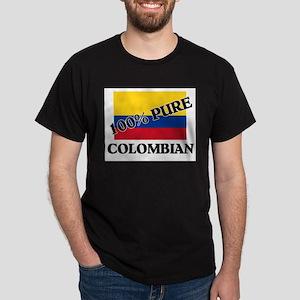 100 Percent COLOMBIAN Dark T-Shirt