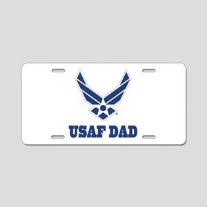 USAF Air Force Dad Aluminum License Plate