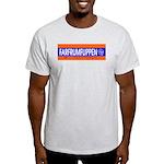 FARFRUMFLIPPEN. Ash Grey T-Shirt