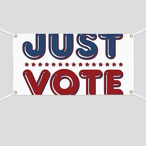 Just VOTE Banner