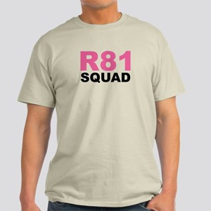 R81 Squad Light T-Shirt