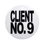 Client No. 9 Ornament (Round)