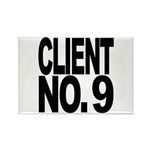 Client No. 9 Rectangle Magnet