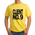 Client No. 9 Yellow T-Shirt