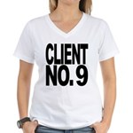 Client No. 9 Women's V-Neck T-Shirt