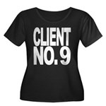 Client No. 9 Women's Plus Size Scoop Neck Dark T-S