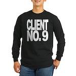 Client No. 9 Long Sleeve Dark T-Shirt
